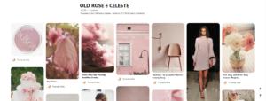 board pinterest old rose e celeste Truscada